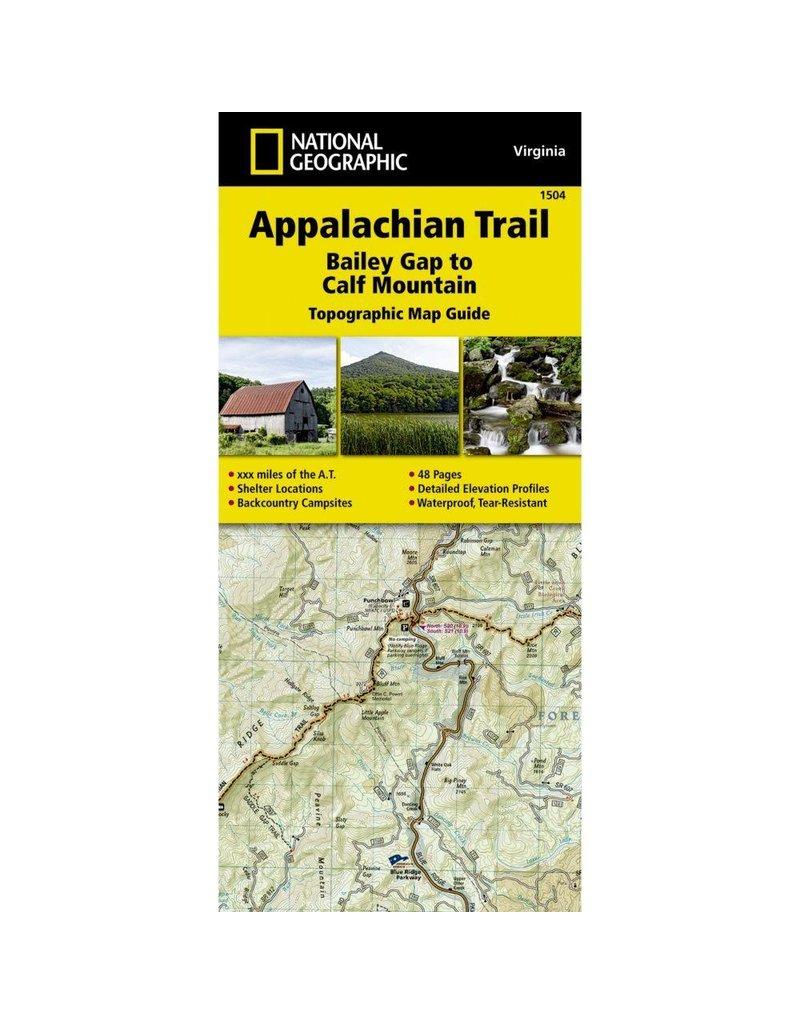 National Geographic Appalachian Trail Map