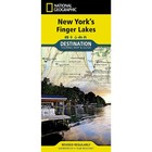 National Geographic New York Finger Lakes Destination Touring Map & Guide