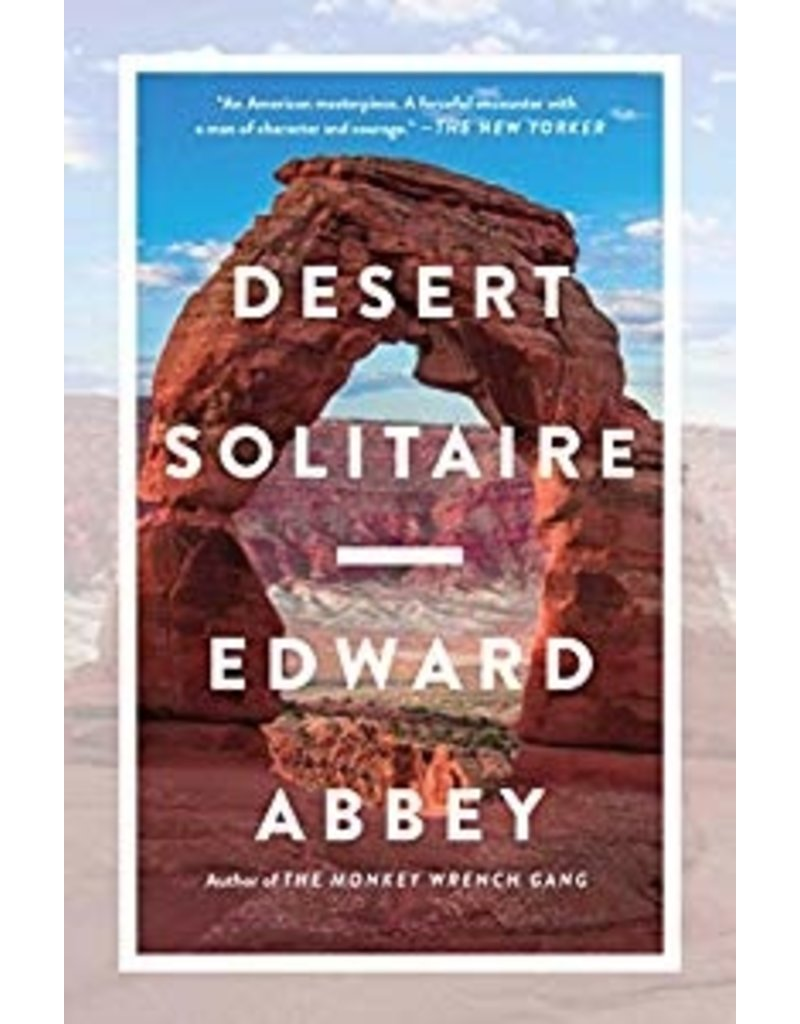 North Country Books Inc. Desert Solitaire