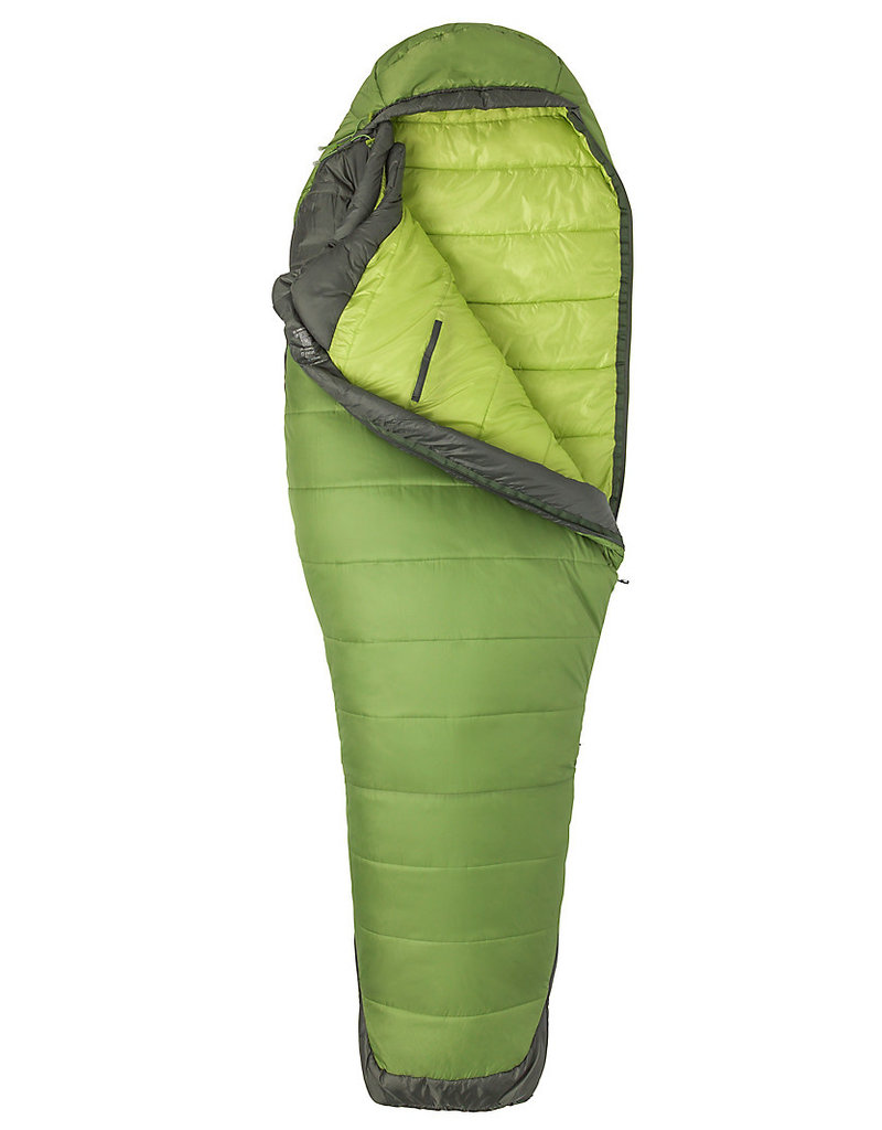 Marmot Women's Trestles Elite Eco 30 Reg Wheatgrass/Crocodile Right Zip
