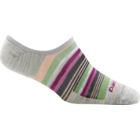 Darn Tough Socks Womens Topless Mini Stripe No Show Light Cushion Sock 6001