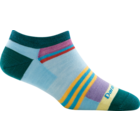 Darn Tough Socks Women's Modern Stripe No Show Light Cushion Sock 6003