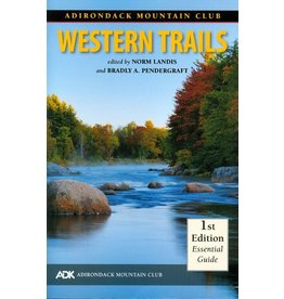 North Country Books Inc. ADK Mtn Club Guide Western Trails Map Pack 1st Edition