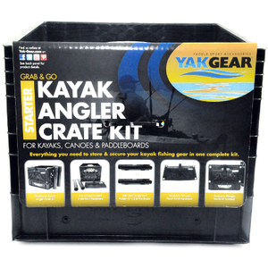 Yak Gear Kayak Angler Kit in Crate Starter