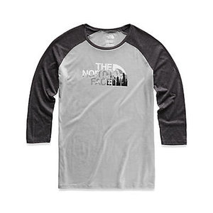 The North Face Ws Heritage Baseball 3/4 Sleeve Tri-Blend Shirt