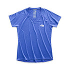 The North Face Ws SS Reaxion Amp V-Neck Tee