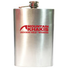Mountain Khakis Stainless Steel MK Flask