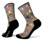 SmartWool Women's Hike Light Cushion Summer Nights Print Crew Socks