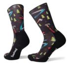 SmartWool Men's Hike Light Sharp Things Print Crew Socks