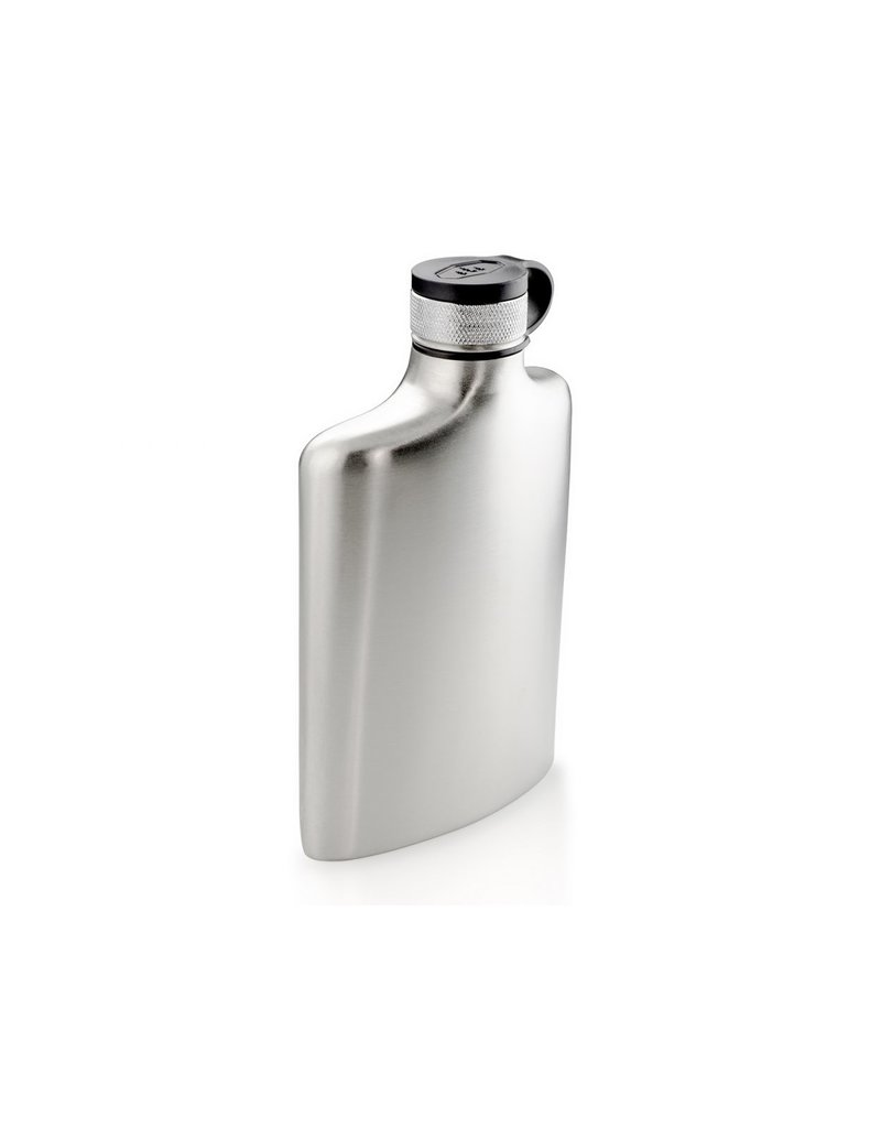 GSI Outdoors Glacier Stainless Steel Hip Flask 8oz