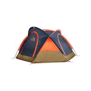 The North Face Homestead Domey 3 Shady Blue/Papaya Orange
