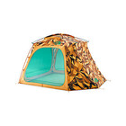 The North Face Homestead Shelter Zinnia Orange Low Poly Print/Citrine Yellow OS