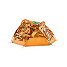 The North Face Homestead Domey 3 Zinnia Orange Low Poly Print/Citrine Yellow Closeout