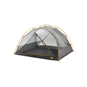 The North Face Talus 4 Person Tent Golden Oak/Saffron Yellow