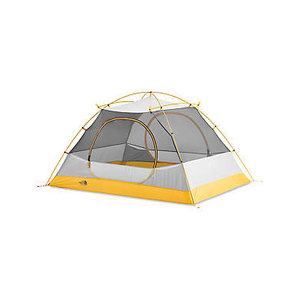 The North Face Stormbreak 3 Person Tent - Asphalt Grey/Papaya Yellow