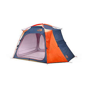 The North Face Homestead Shelter - Shady Blue-Papaya Orange