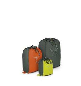 Osprey Packs UltraLight Stretch Mesh Sack Set 1L Lime/3L Orange/6L Grey