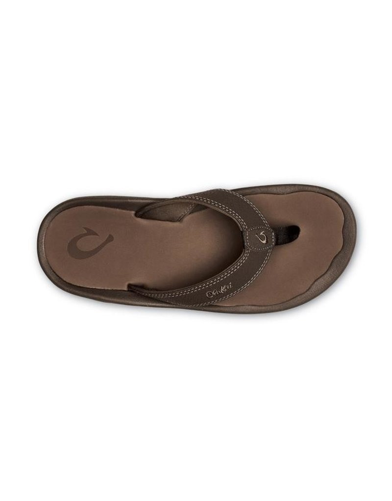 Olukai Men's Ohana Leather Flip Flop