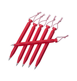 MSR Dart Stake Kit Red 9in