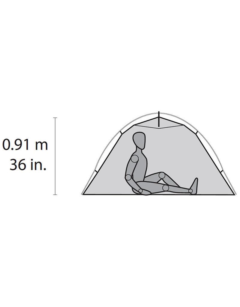 MSR Hubba NX 1 Person Solo Tent V7 Red