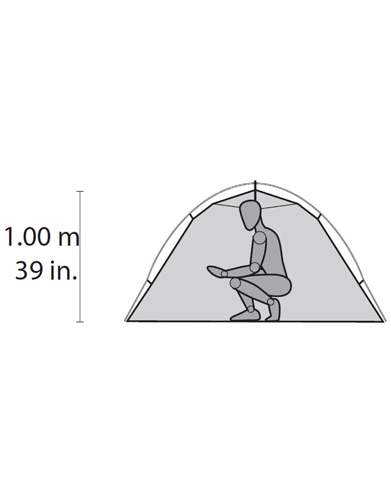 MSR Hubba Hubba NX 2 Person Ultralight Backpacking Tent