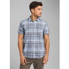 Prana Men's Cayman Plaid Short Sleeve Shirt Closeout