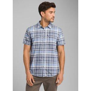 Prana Men's Cayman Plaid Short Sleeve Shirt Closeout