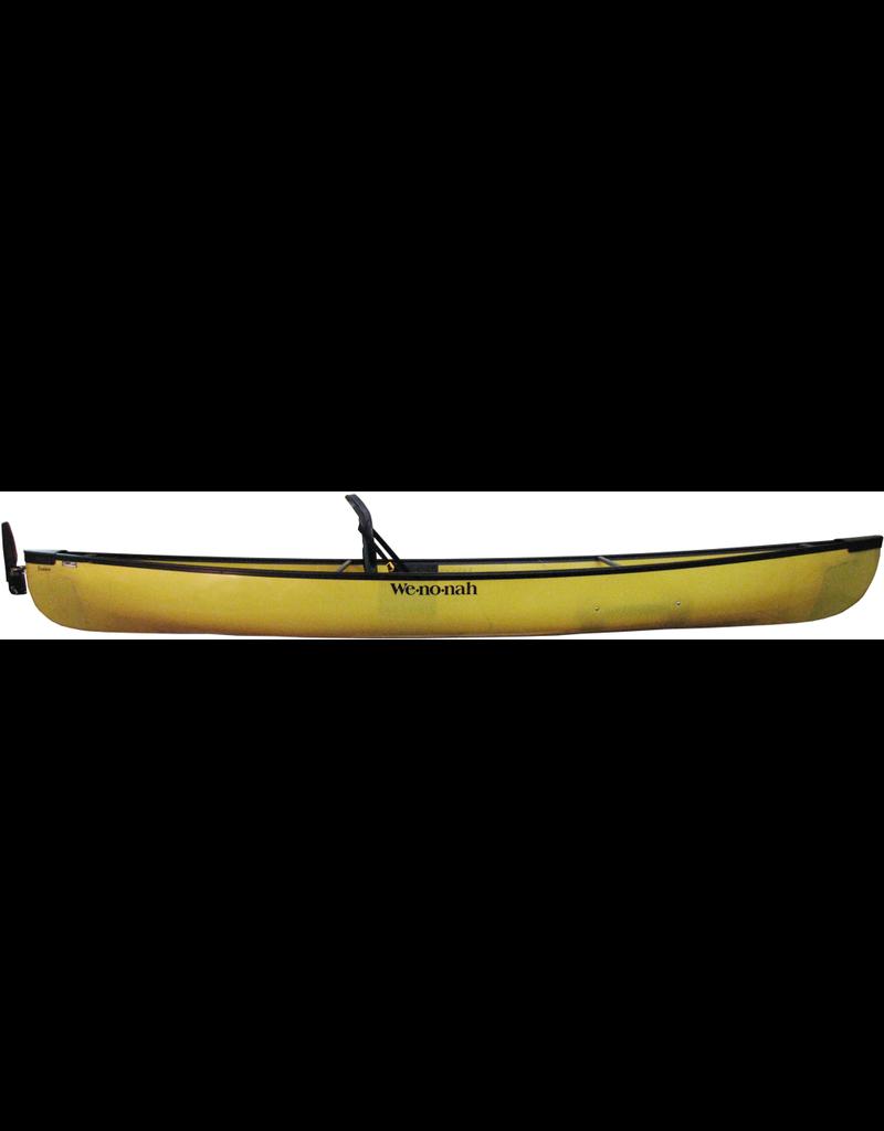 Wenonah Canoe Fusion 13 Kevlar UL Web Sitbacker Black Trim Rudder - 2019