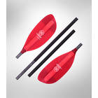 Werner Paddles Pack Tour M 4Pc Straight Std Adj 210-225 R30 Red