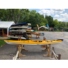 Impex Kayaks Used Impex Irie Fiberglass w/ Rudder Yellow/White