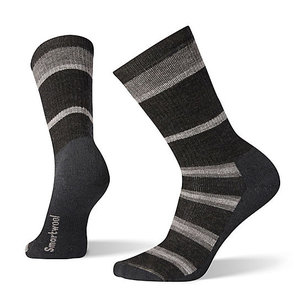SmartWool Men's Striped Hike Medium Cushion Crew Socks