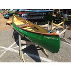Swift Canoe Prospector 14 KF Emerald/Cham CKT Multi Fishing Pack Wood Gunwale outer 0941-0119 DEMO