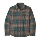 Patagonia Men's Long Sleeved Light Weight Fjord Flannel Shirt Closeout