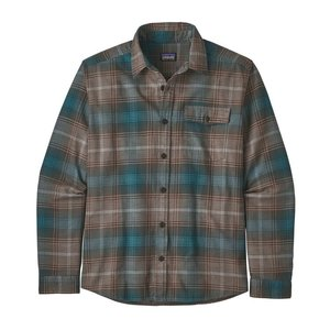 Patagonia Ms Long Sleeved Light Weight Fjord Flannel Shirt