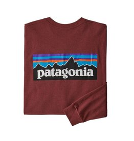 Patagonia Men's Long Sleeve P-6 Logo Responsibilit-Tee Closeout