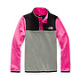 The North Face Girl's Glacier 1/4 Snap Fleece Jacket