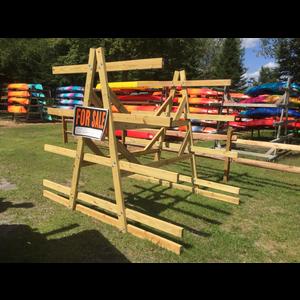 Mountainman Kayak/Canoe Rack (Pressure Treated Wood) - 1 Set