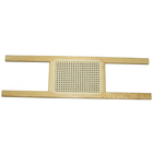 "Essex Industries 34"" Clear Varnish Ash Caned Seat (Stern)"