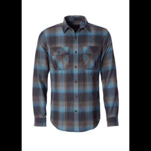 Royal Robbins Men's Lost Coast Flannel Long Sleeve Plaid Shirt