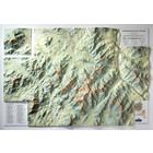 Summit Terragraphics Inc. Adirondack High Peaks 3D Mountain Raised Relief Map