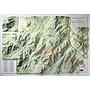 Summit Terragraphics Inc. Adirondack High Peaks 3D Mountain Raised Relief Map