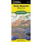 National Geographic Rocky Mountain National Park T.I. Topographical Map