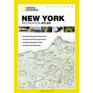 National Geographic New York State Recreation Atlas