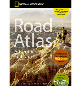 National Geographic Road Atlas - 2019 Adventure Edition