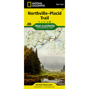 National Geographic Northville-Placid Trail T.I. Topographical Map