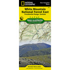National Geographic White Mountain National Forest T.I. Topographical Map - East