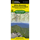 National Geographic White Mountains National Forest T.I. Topographical Map - West