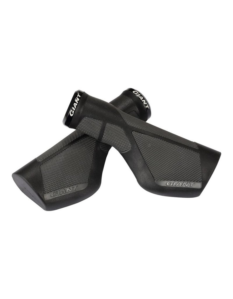Giant Ergo Max Lock-On Grips Black/Grey