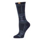 BearPaw Women's Fairisle Texture Crew Socks - Black