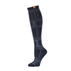 BearPaw Women's Fairisle Texture Knee High Socks - Black